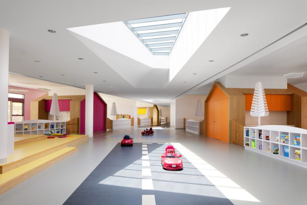 Ladybird Early Learning Centre design uses natural daylight throughout