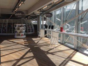 The Culture Yard interior