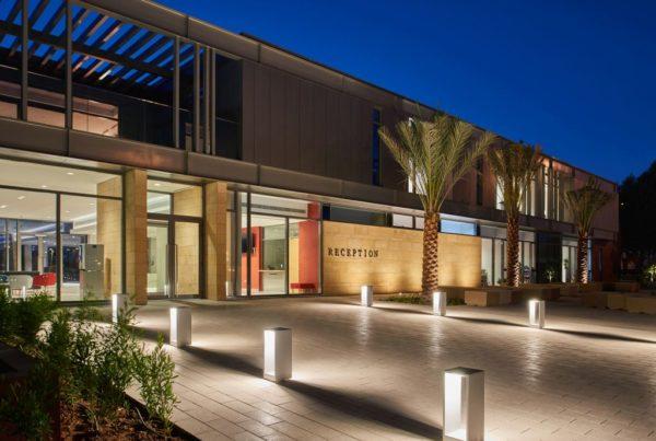 Dubai College reception building