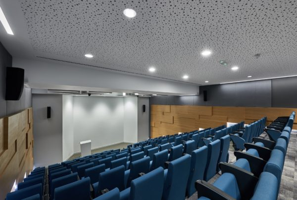 Dubai College lecture hall