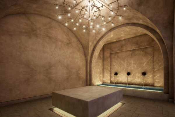 Spa lighting design