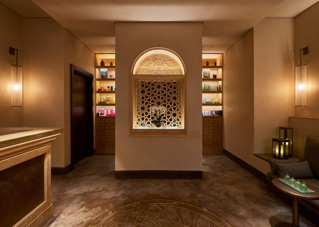 Specialist lighting spa design