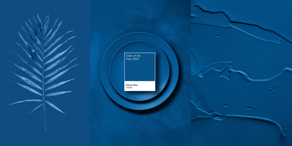 Pantone Colour of the Year 2020. Classic Blue